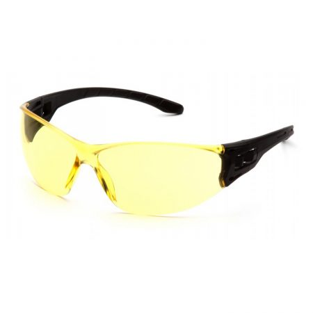 Pyramex trulock safety glasses in amber