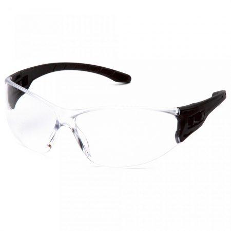pyramex trulock clear safety glasses anti fog lens